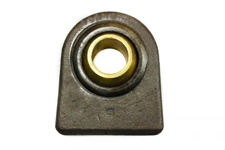 Rótula Furo Ø38,5mm x 127mm x 110mm - Braço do Hidráulico Engesa 1124-1128 / Muller TM28 / TM31 - Cód. Sulmatre: 056.730
